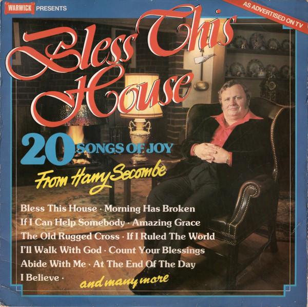 HARRY SECOMBE - Bless This House (20 Songs Of Joy) - LP