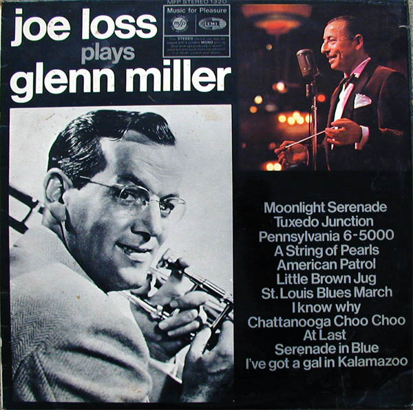 JOE LOSS & HIS ORCHESTRA - Joe Loss Plays Glenn Miller - 33T
