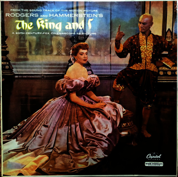 Rodgers & Hammerstein - The King And I (motion Picture Sound-track)