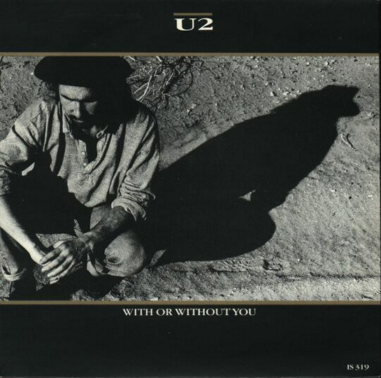 U2 - With Or Without You - 45T x 1