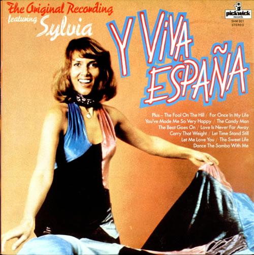 SYLVIA VRETHAMMAR - Y Viva España - LP