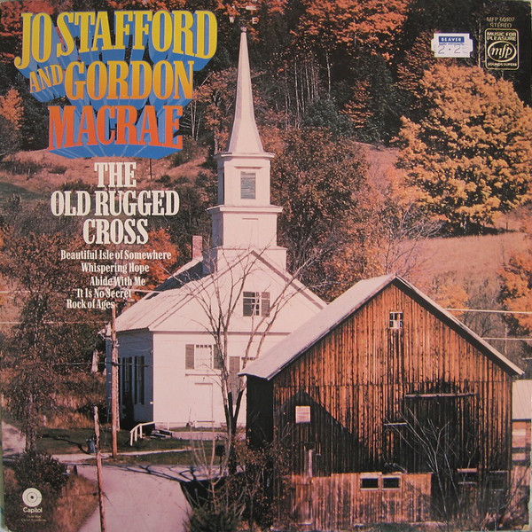 JO STAFFORD AND GORDON MACRAE - The Old Rugged Cross - LP