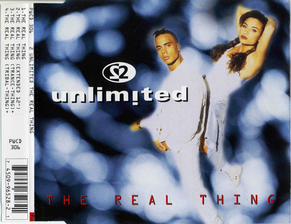 2 UNLIMITED - The Real Thing - CD