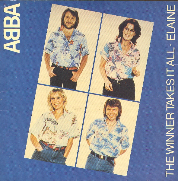 ABBA - The Winner Takes It All / Elaine - 7inch x 1
