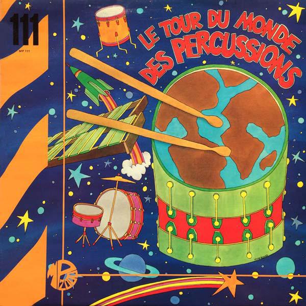 MICHEL DELAPORTE - Le Tour Du Monde Des Percussions - 33T