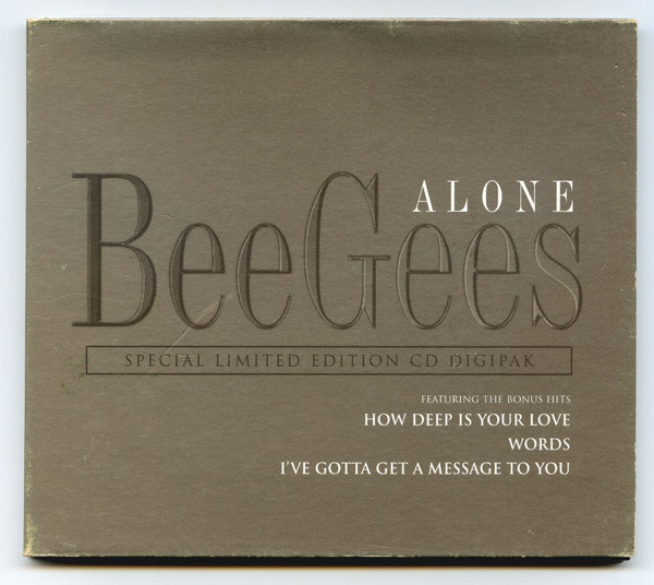 BEE GEES - Alone - CD