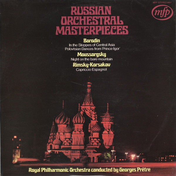 The Royal Philharmonic Orchestra Russian Orchestral Masterpieces