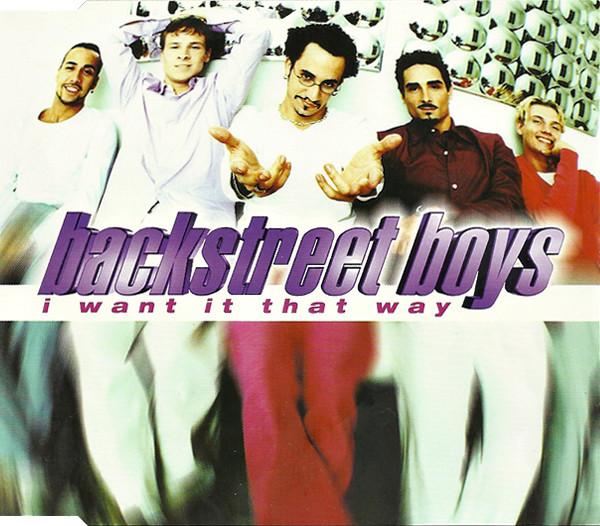 BACKSTREET BOYS - I Want It That Way - CD
