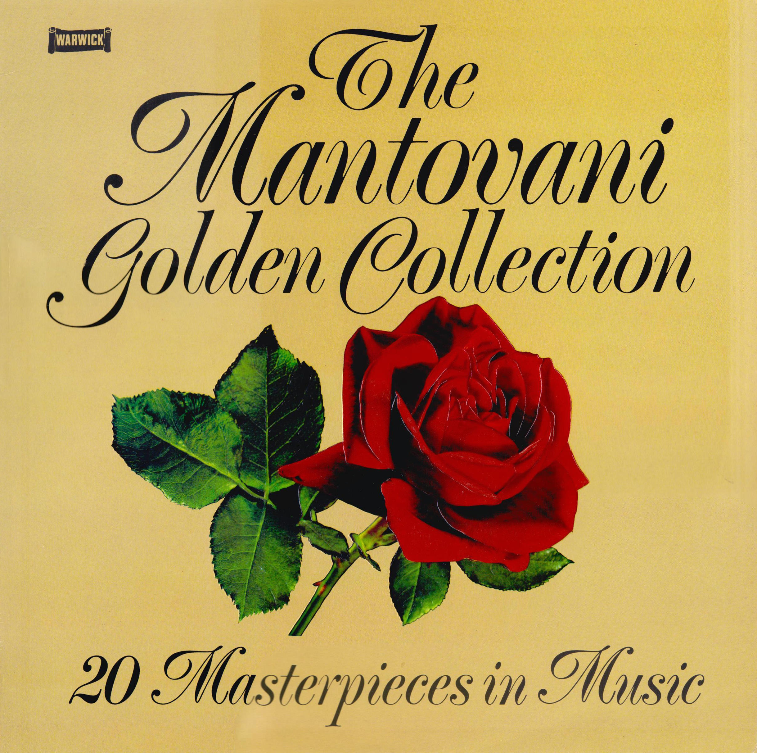 Mantovani And His Orchestra The Mantovani Golden Collection - 20 Masterpieces In Music