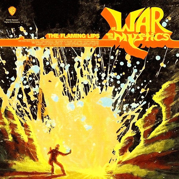 THE FLAMING LIPS - At War With The Mystics - CD