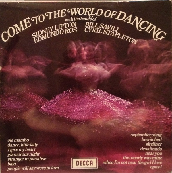 VARIOUS - Come To The World Of Dancing - LP