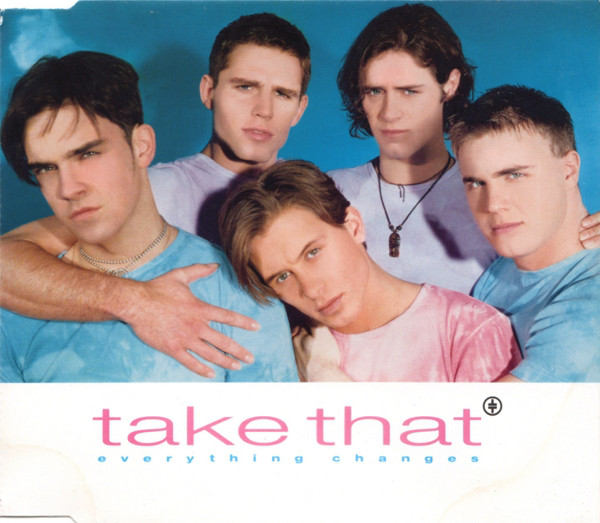 TAKE THAT - Everything Changes - CD