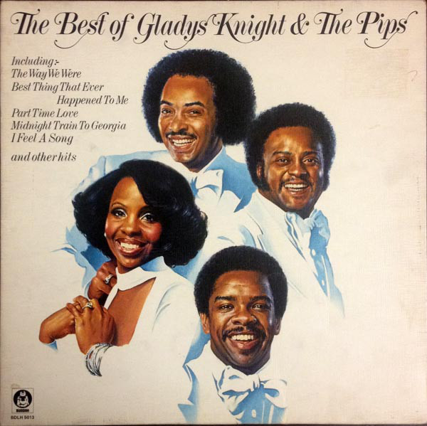 GLADYS KNIGHT AND THE PIPS - The Best Of Gladys Knight & The Pips - 33T
