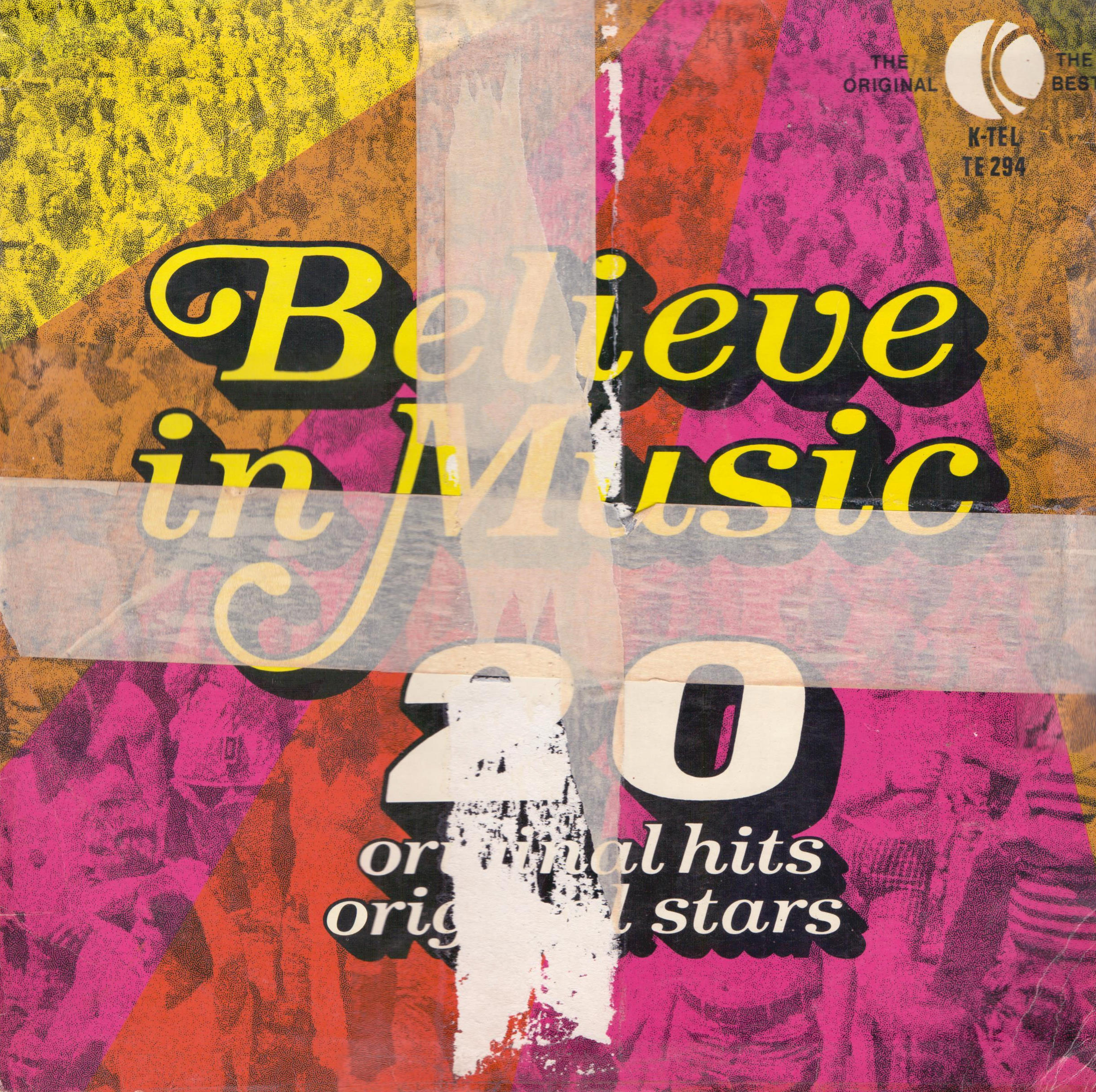 VARIOUS - Believe In Music - 33T