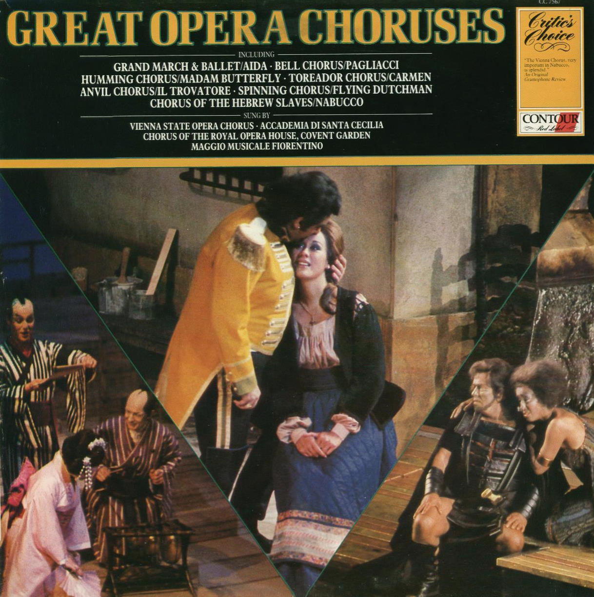 Wiener Staatsopernchor Coro dell'Accademia Naziona Great Opera Choruses