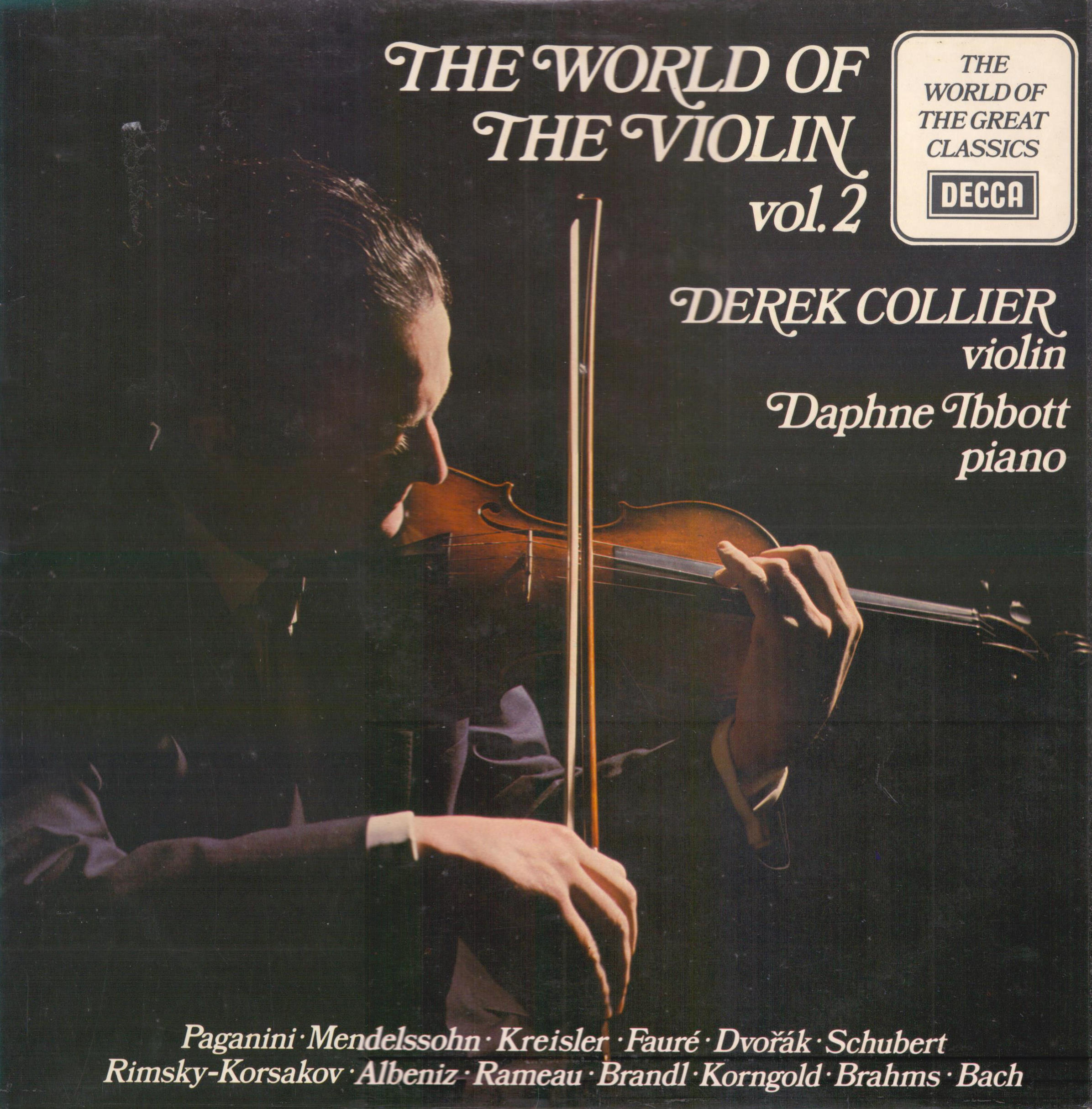 DEREK COLLIER DAPHNE IBBOTT - The World Of The Violin (Vol. 2) - 33T