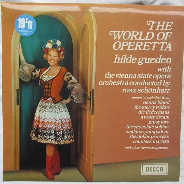 Hilde Güden With Orchester Der Wiener Staatsoper C The World Of Operetta