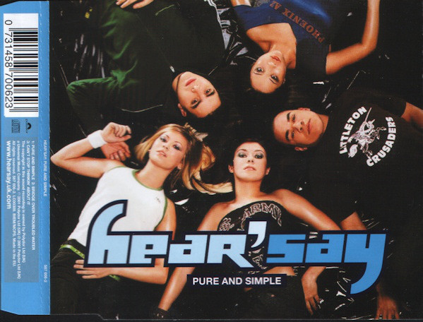 HEAR'SAY - Pure And Simple - CD