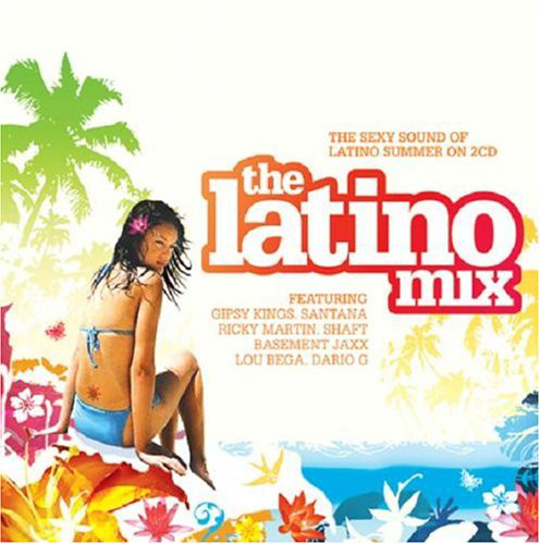 VARIOUS - The Latino Mix - CD x 2