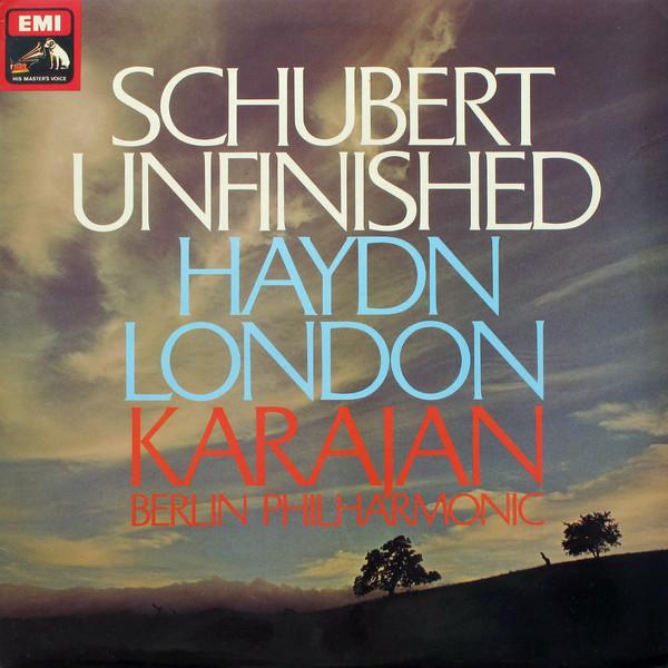 Herbert von Karajan Berliner Philharmoniker Franz Unfinished / London