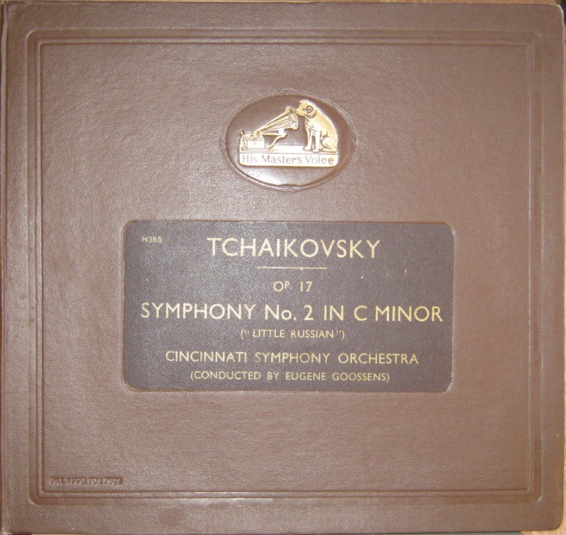 cincinnati symphony orchestra conducted by sir eug symphony no. 2 in c minor
