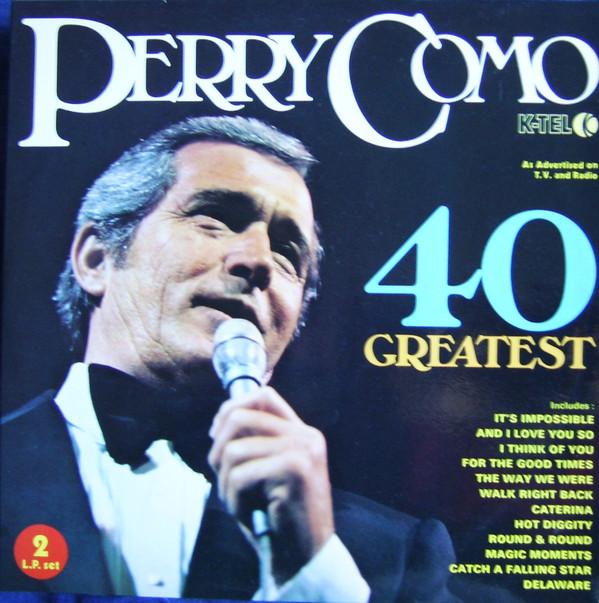 PERRY COMO - 40 Greatest - LP x 2