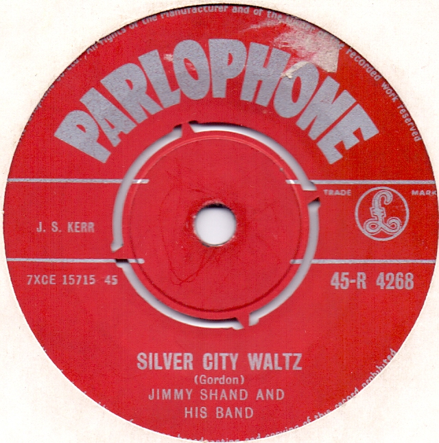 JIMMY SHAND AND HIS BAND - Silver City Waltz / Irish Jigs - 45T x 1
