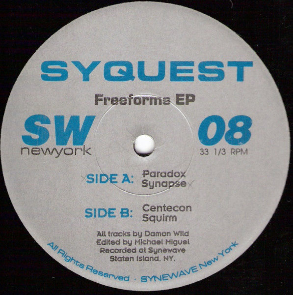 SYQUEST - Freeforms EP - Maxi x 1