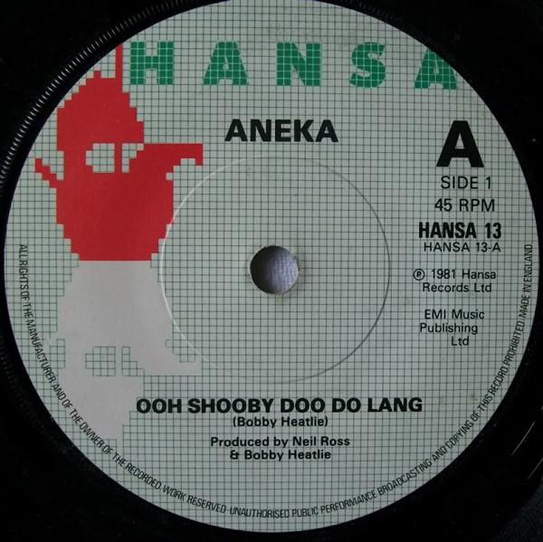 ANEKA - Ooh Shooby Doo Doo Lang - 45T x 1