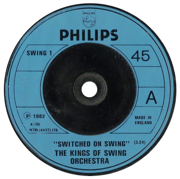 THE KINGS OF SWING ORCHESTRA - Switched On Swing - 45T x 1