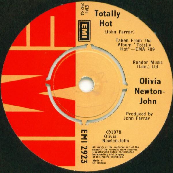 OLIVIA NEWTON-JOHN - Totally Hot - 7inch x 1