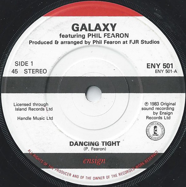 GALAXY - Dancing Tight - 7inch x 1