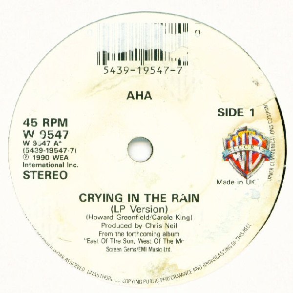 a-ha Crying In The Rain