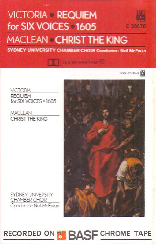 Requiem for six voices 1605 / christ the king by Tomã¡S Luis De