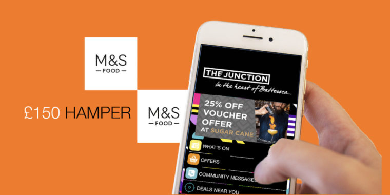 The Junction App and Your Chance to Win an M&S Hamper Worth £150! 27 Aug