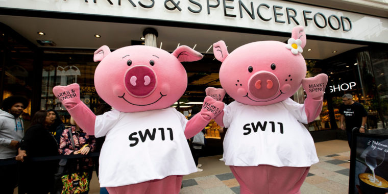 M&S Percy Pig Competition