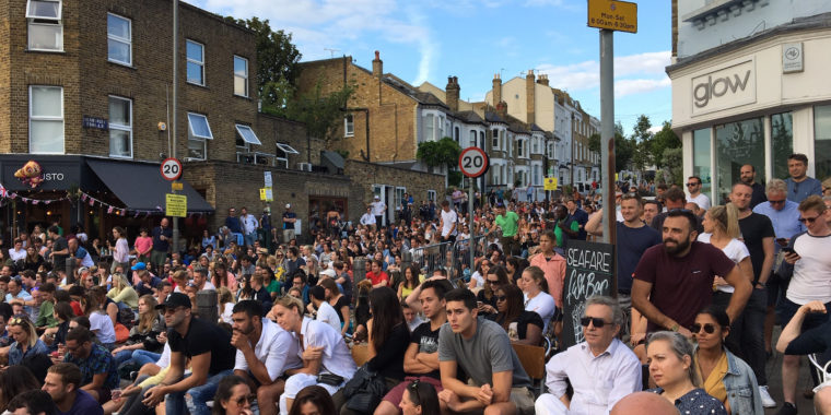 Northcote Road Festival served an ace of a day! 31 Jul