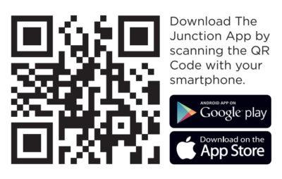 The Junction App QR Code