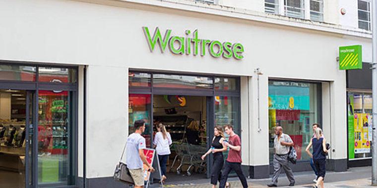 Waitrose Shopping