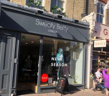 Sweaty Betty Shopping