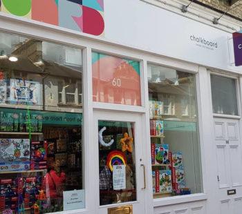 Chalkboard Toys Shopping