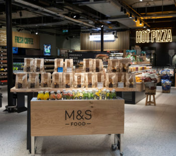 Marks and Spencer Food Shopping