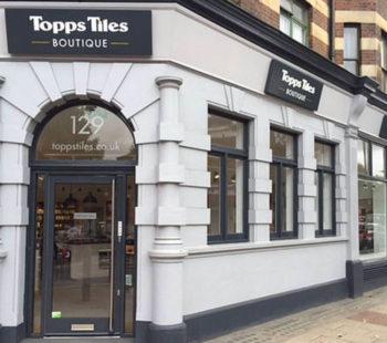Topps Tiles Boutique Clapham Shopping