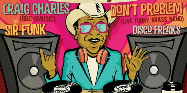 Craig Charles Funk & Soul Club 31 Jul