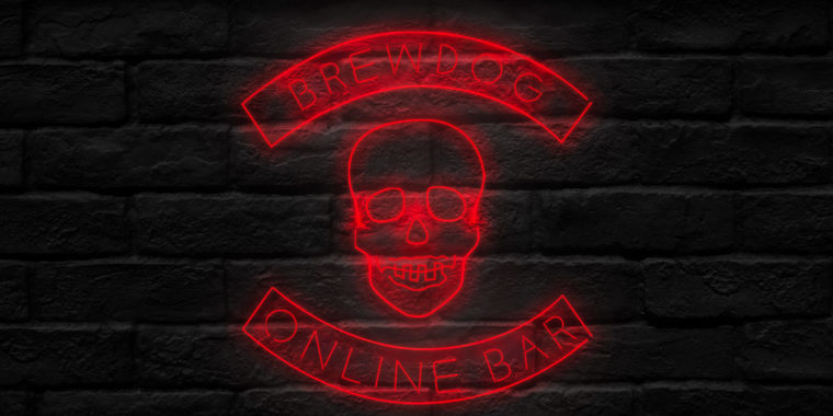 BrewDog Online Bar 03 Apr - 31 May
