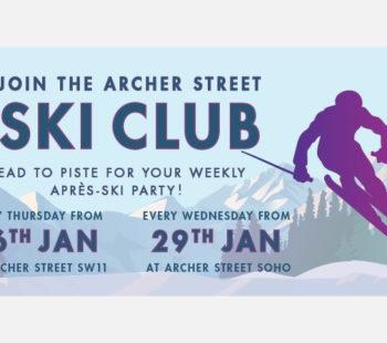The Archer Street Ski Club Meets 30 Jan - 27 Feb