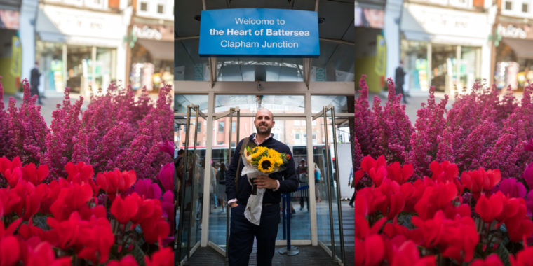 With love from Cupid in Clapham Junction 06 Feb