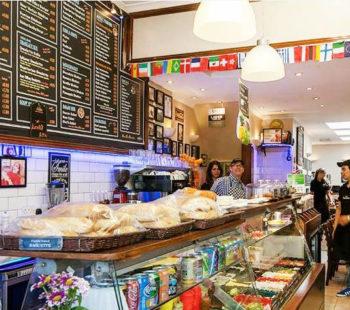 Cafe Parisienne Food & Drink