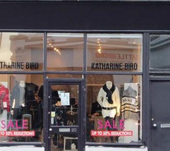 Katharine Bird Shopping