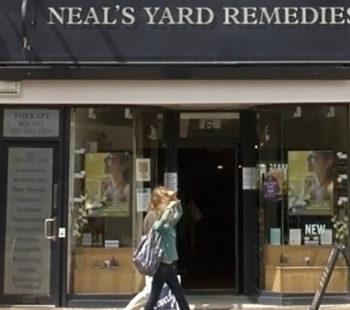 Neal's Yard Shopping